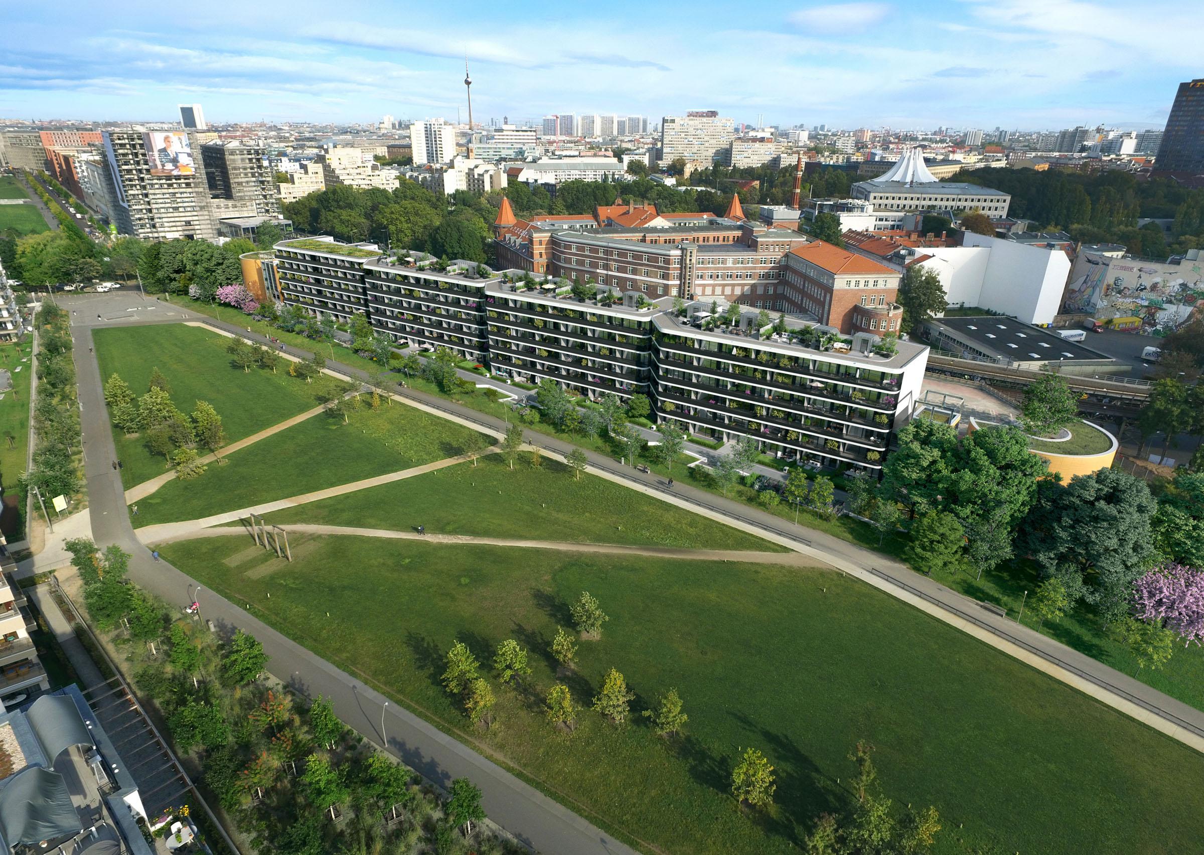 Wohnen gleis park berlin l i l l s p a r l a landschaftsarchitekten k ln - Landschaftsarchitekten koln ...
